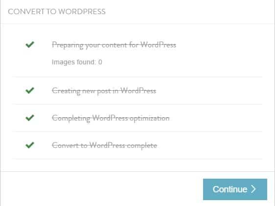 CoSchedule Calendar ~ Convert to WordPress Complete