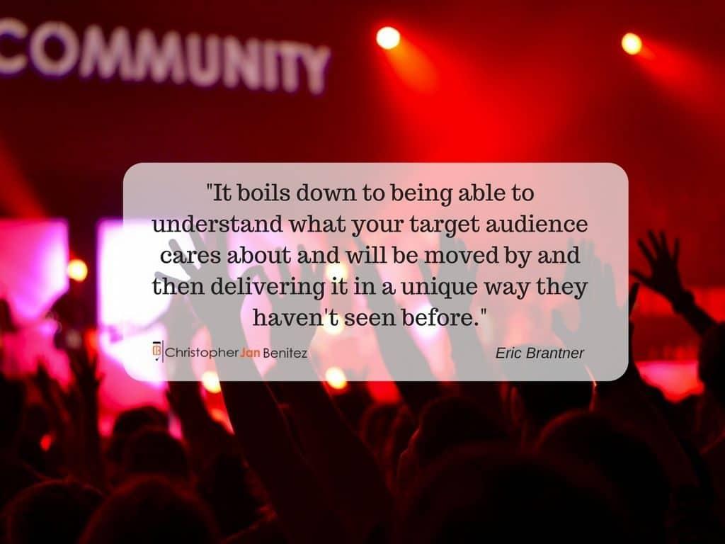 Eric Brantner Quote 2