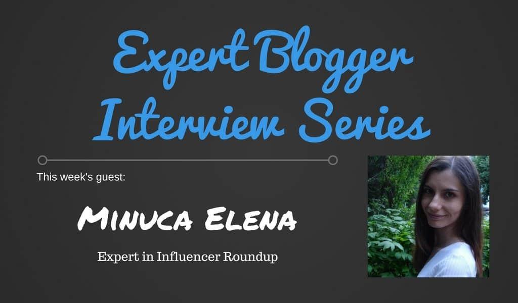 Expert Blogger Interview Series