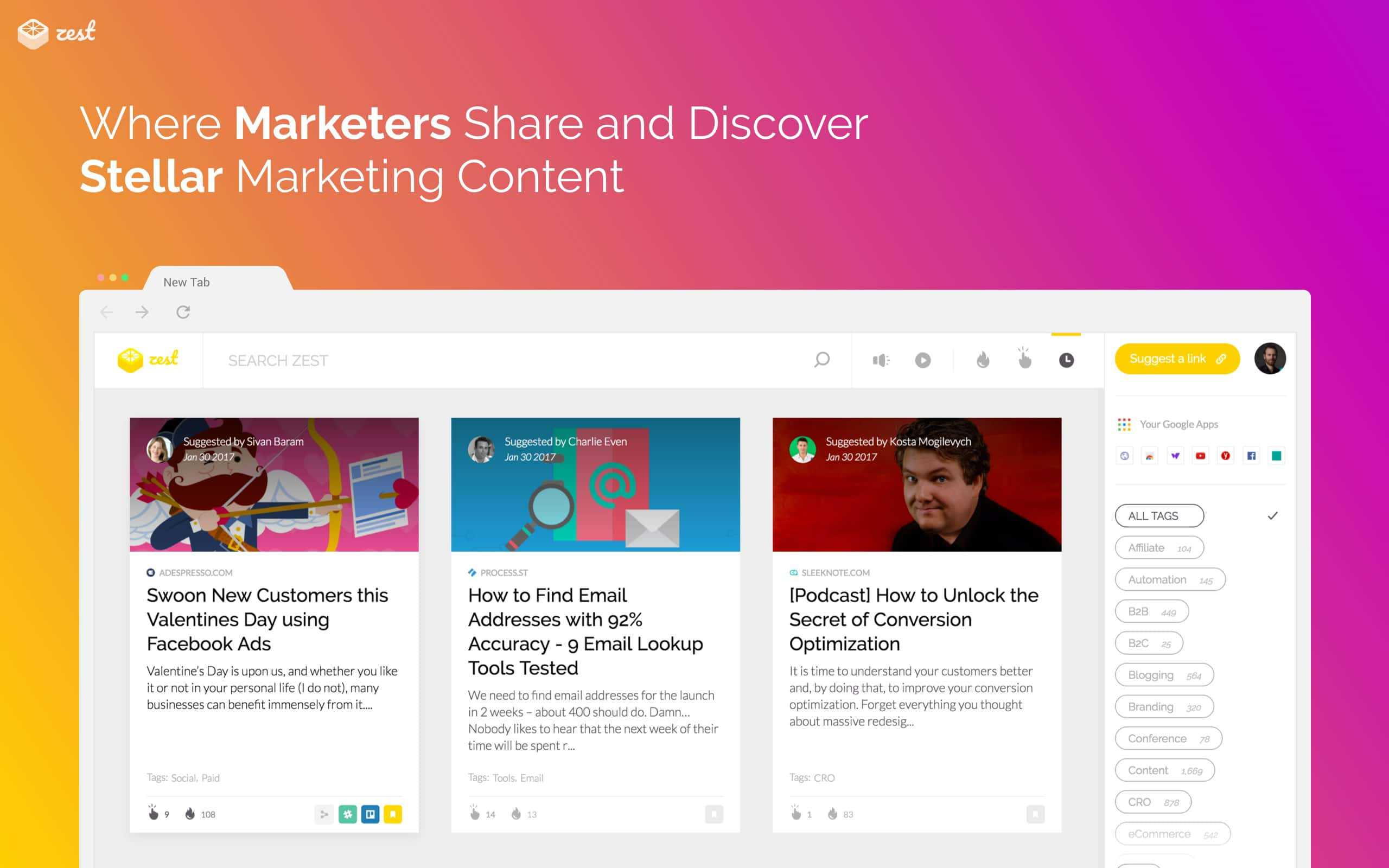 Zest.is: a Community for Digital Marketers that Matter