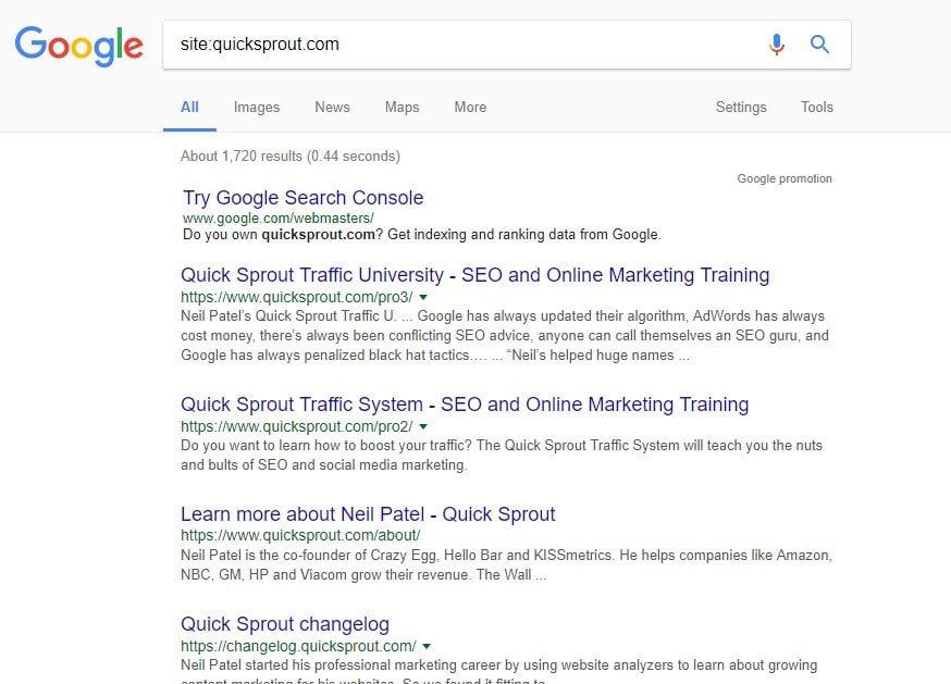 google quicksprout