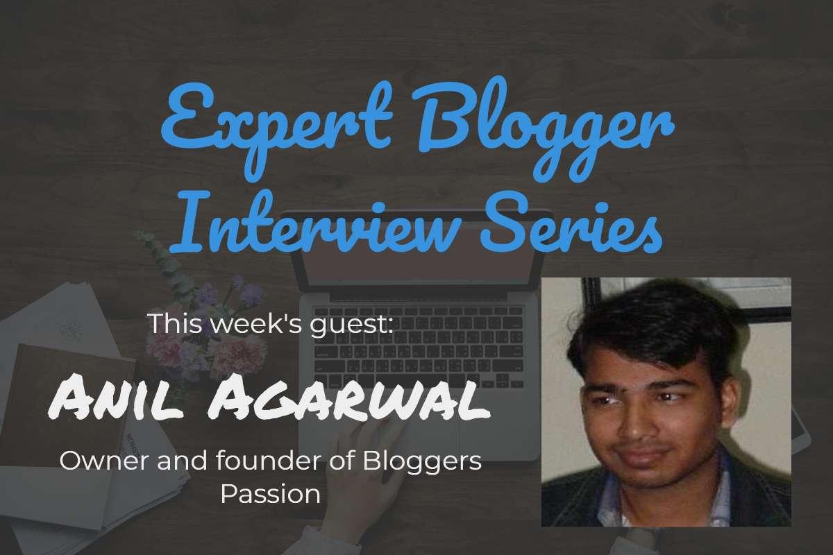 Anil Agarwal Expert Blogger Interview