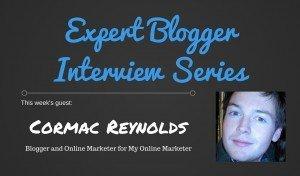 Expert Blogger Interview: Cormac Reynolds 3