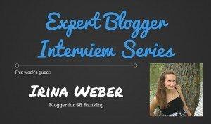 Expert Blogging Interview: Irina Weber 1