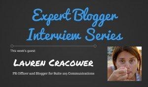 Expert Blogger Interview: Lauren Cracower 1