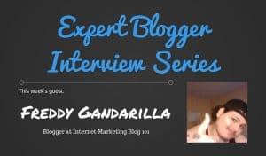 Expert Blogger Interview: Freddy Gandarilla 1