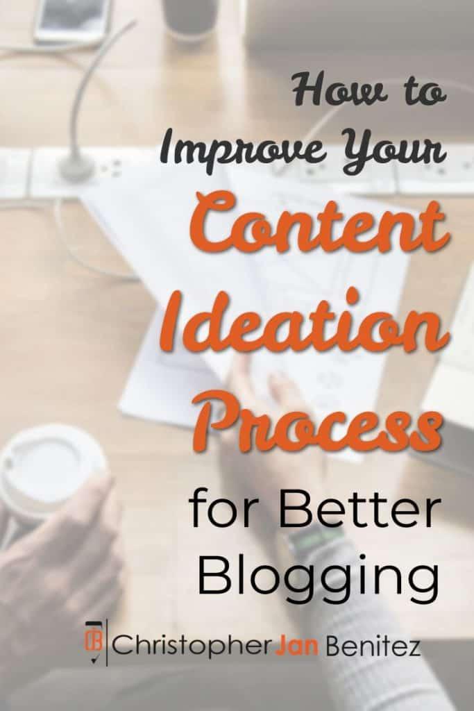 content creation process pinterest