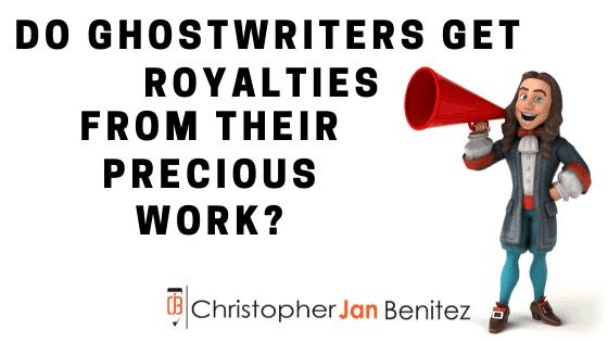 do ghostwriters get royalties