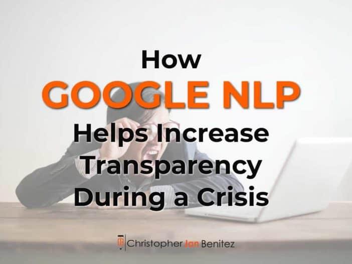 google nlp covid19